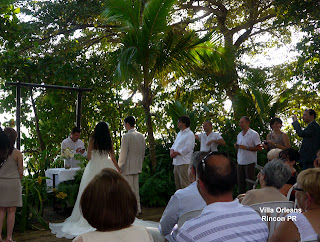 villa orleans beach wedding