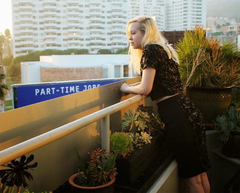 Above Hollywood Boulevard, amen fashion blogger