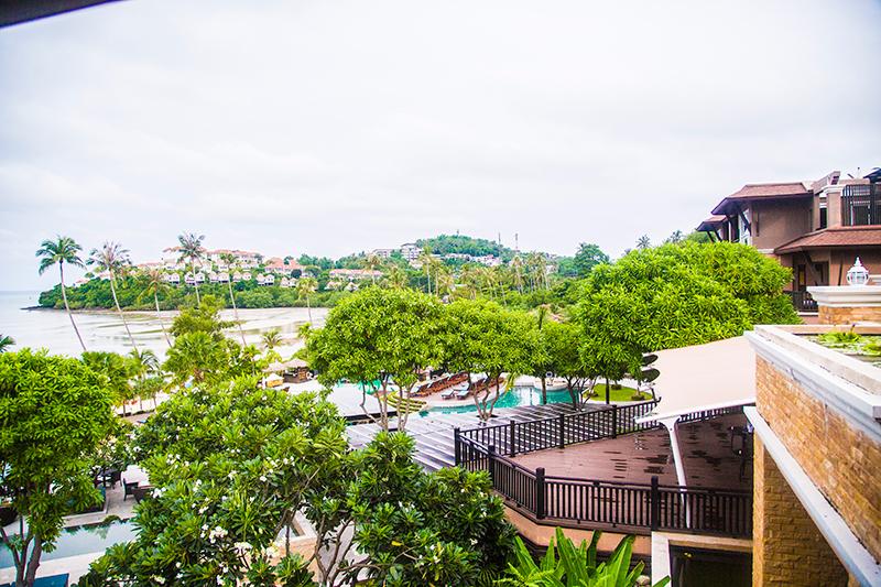 Radisson Blu Plaza Phuket hotel lagoon swimming pool