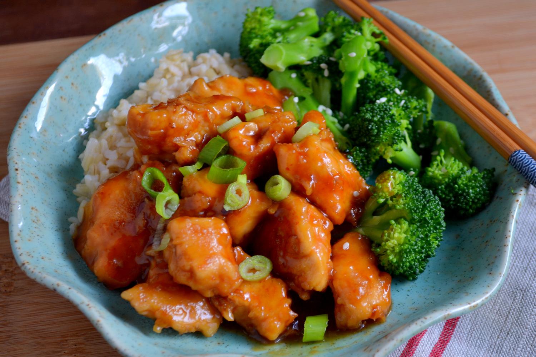 Test Kitchen: SRC: General Tso's Chicken
