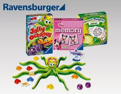 Mini gry Ravensburger, mandala lub memory z Biedronki