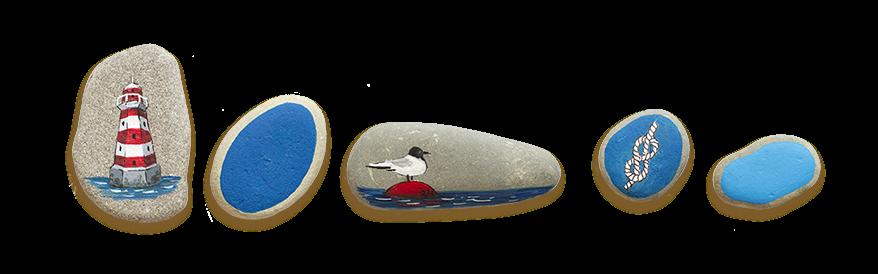 stoneart, рисование на гальке, морская галька