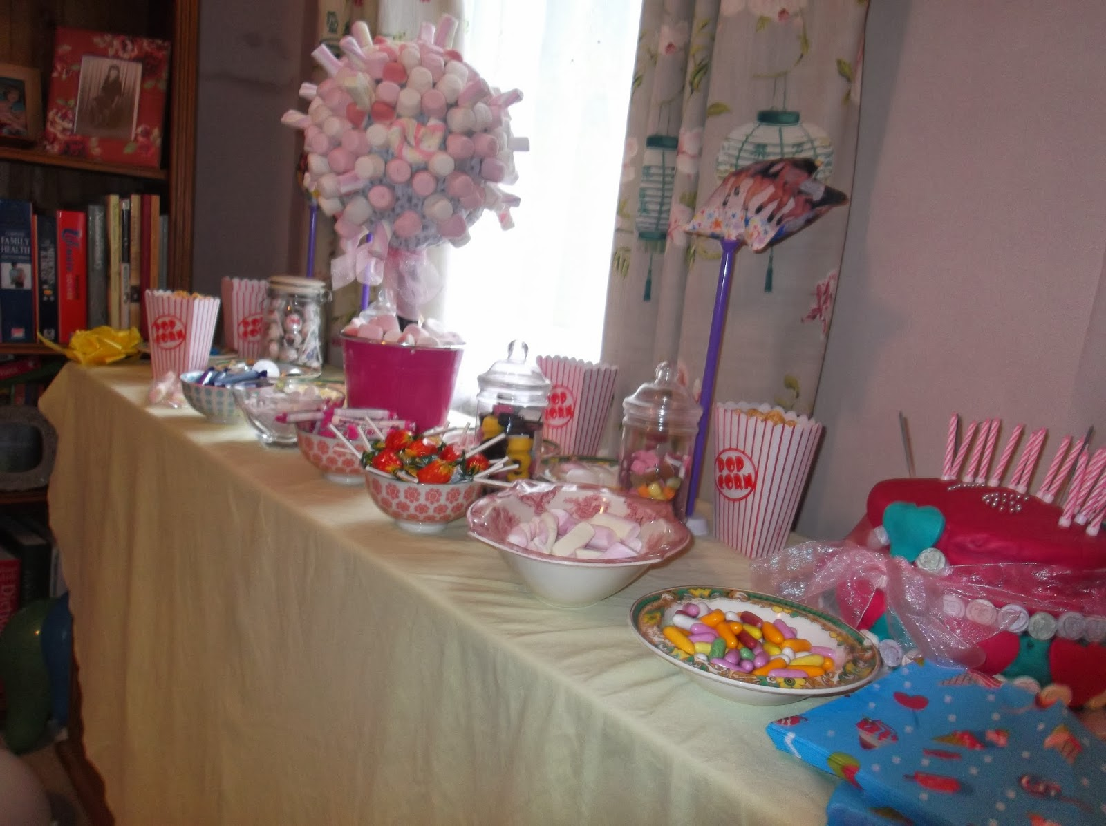 Sweet 16 Candy Table Ideas Photograph Decor