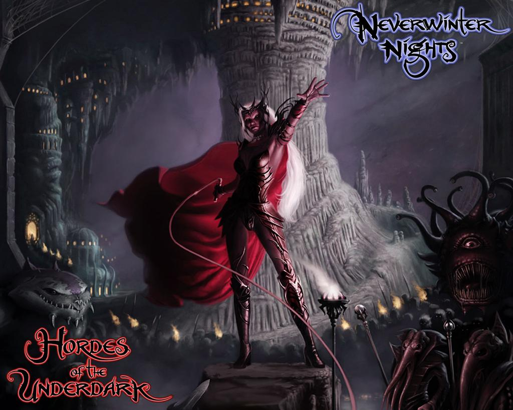 Neverwinter Nights HD & Widescreen Wallpaper 0.714717516129087