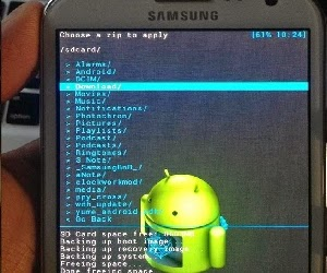 Cara Flash ROM Samsung Galaxy S