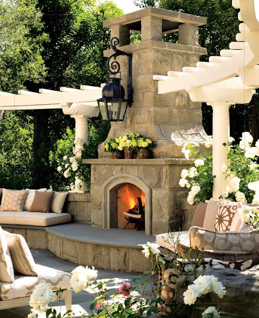 great patio ideas - side and backyard