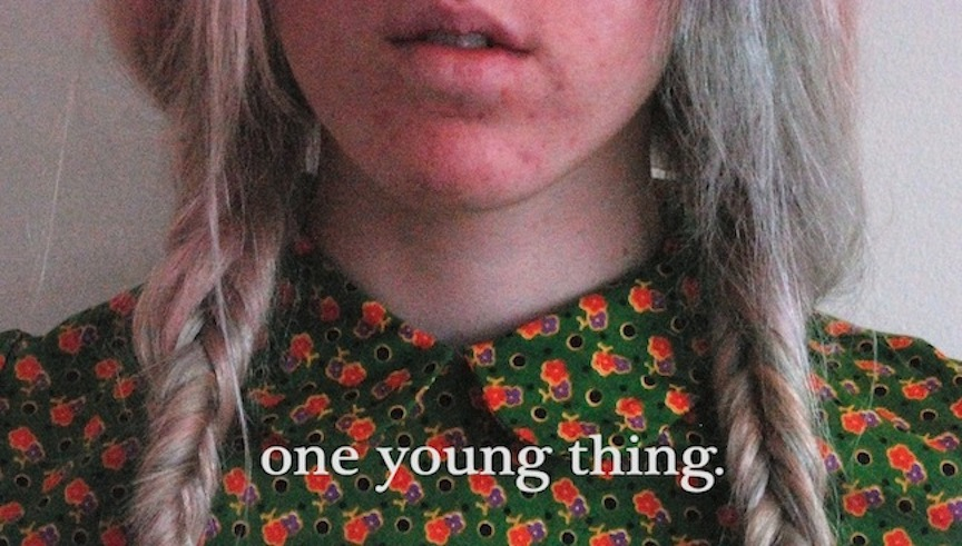 one young thing.