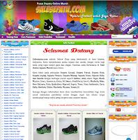 toko Sepatu Online, Jual Sepatu Murah, Sepatu Harga grosir