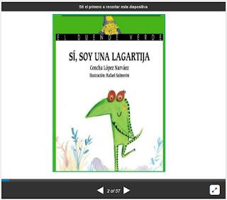 http://es.slideshare.net/yanvas77/si-soy-una-lagartijapara-leer