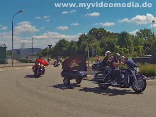 Harley meets Moselwein 2013