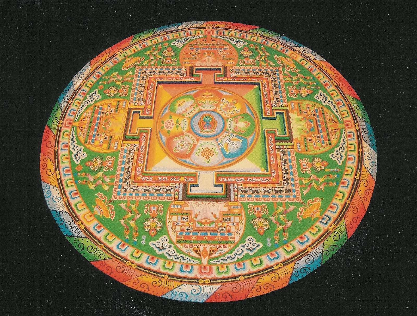 Life of lopsided 8 grand healing puja 2012 by the great - Grand mandala ...
