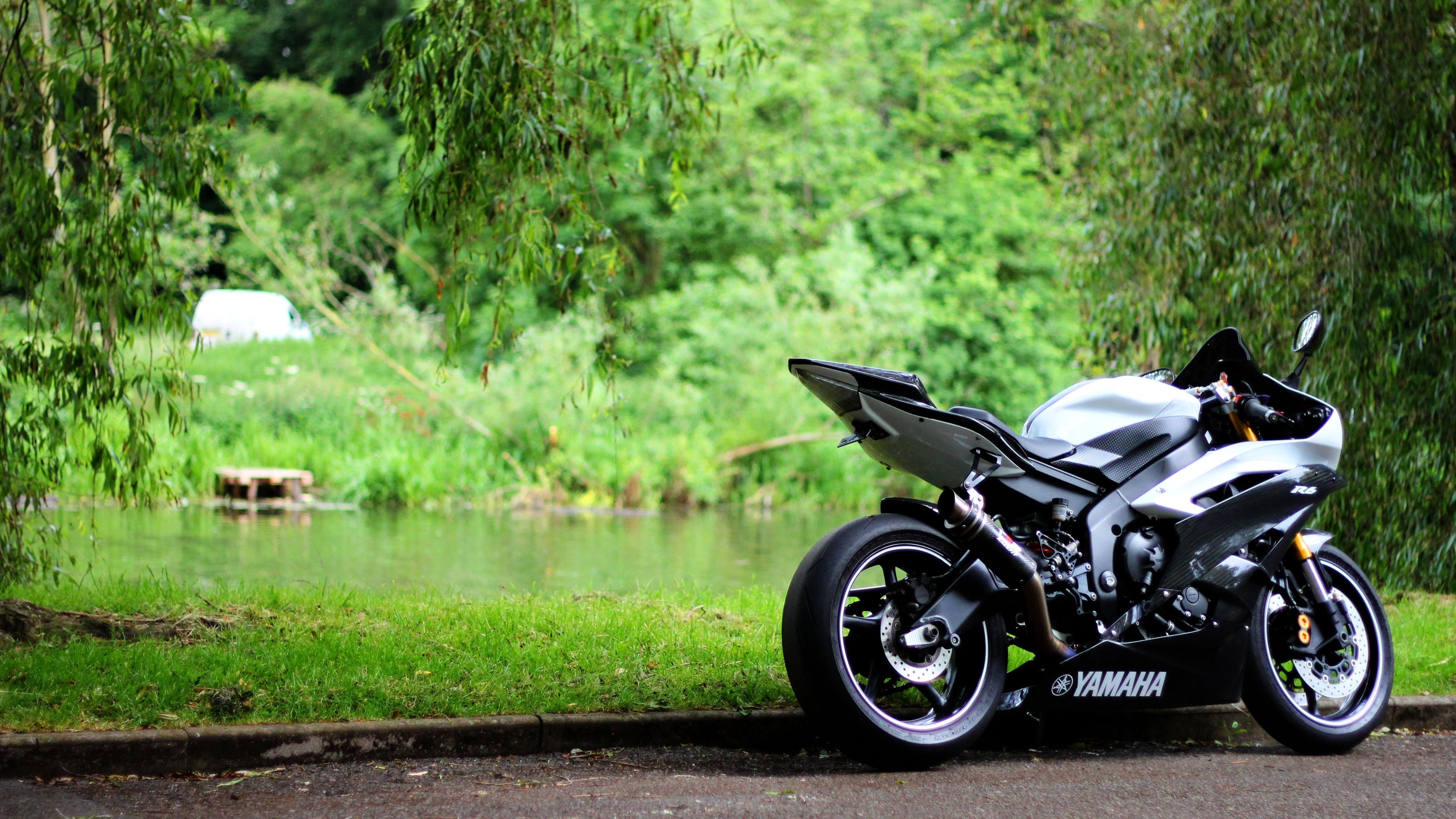 black yamaha r6 wallpaper viewing gallery