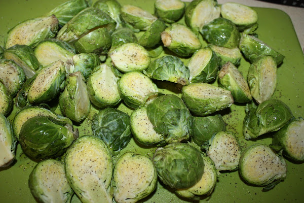 Golden-Crusted Brussels Sprouts - Cynthia's Healthy Recipes