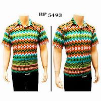 Kemeja Batik Rang Rang BP 5493