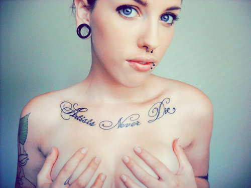Tumblr Tattoos Girls