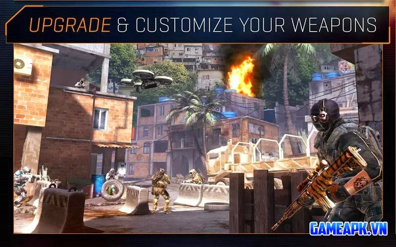 Frontline Commando 2 v2.0.3 Mod (Unlimited Glu & Coins) cho Android