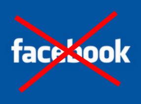 batal akaun facebook