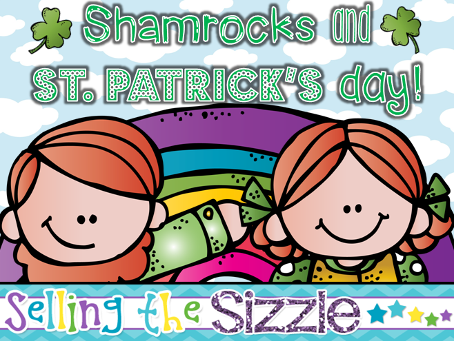 http://www.teacherspayteachers.com/Product/Shamrocks-and-St-Patricks-Day-834133