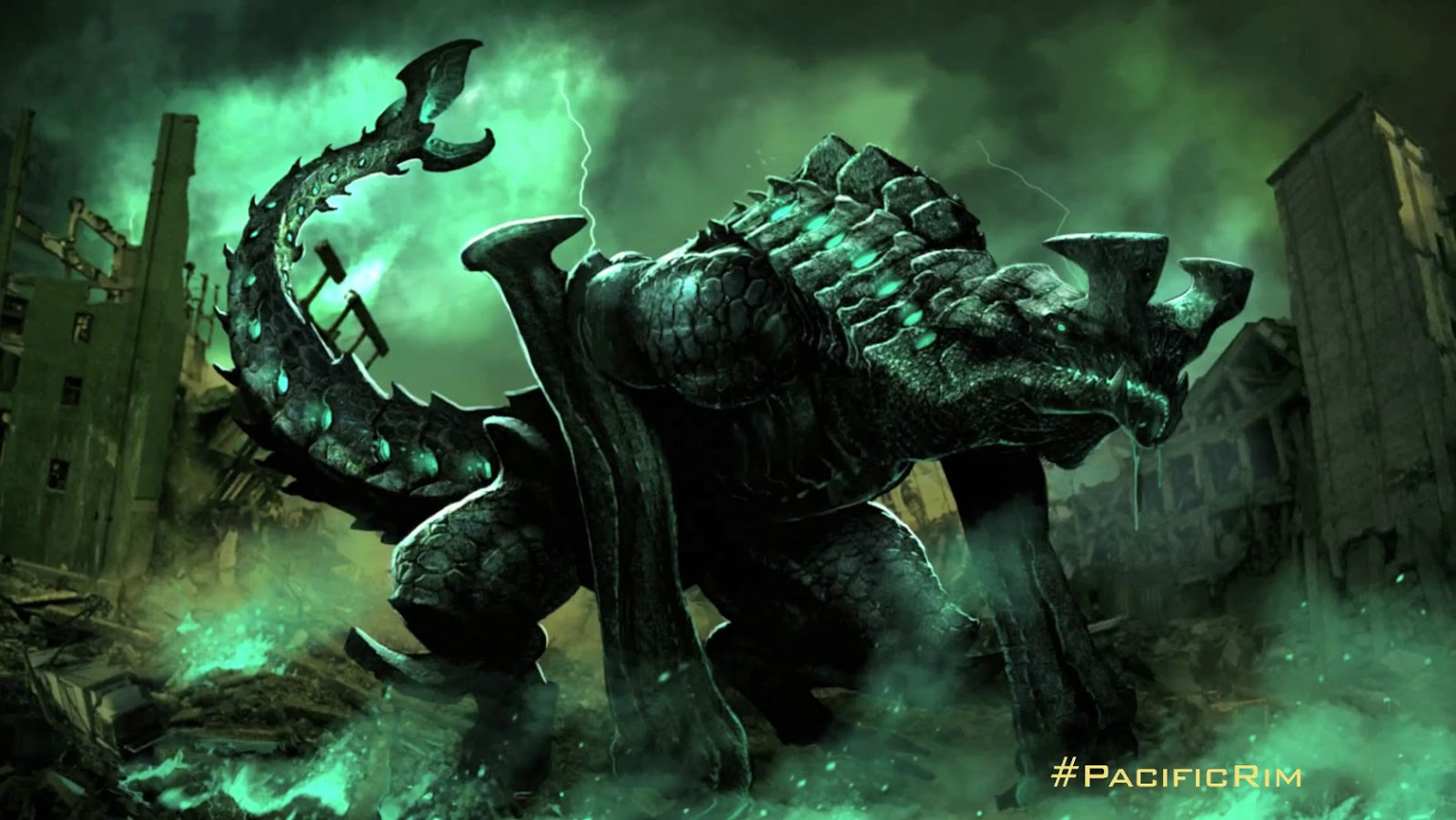 Pacific Rim Kaiju Poster The Geeky Nerfherder: ...