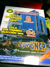 CEPRE  UNCP  2016