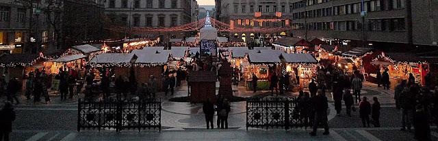 mercadillo navideño Budapest