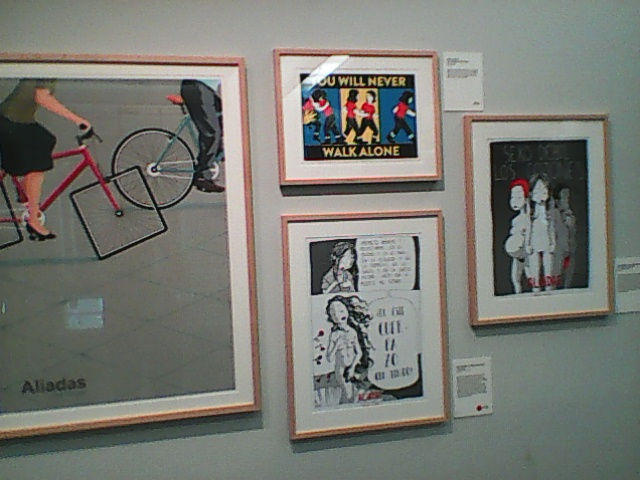 expo  cartoon  art  about  womens  art  in  madrid  16