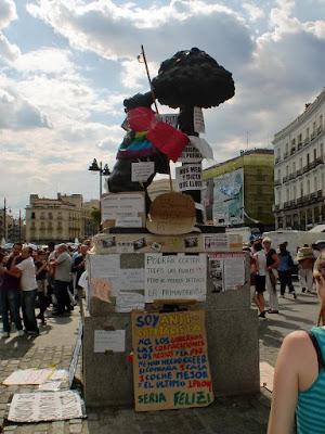 Madrid Puerta del Sol Mayo 2011
