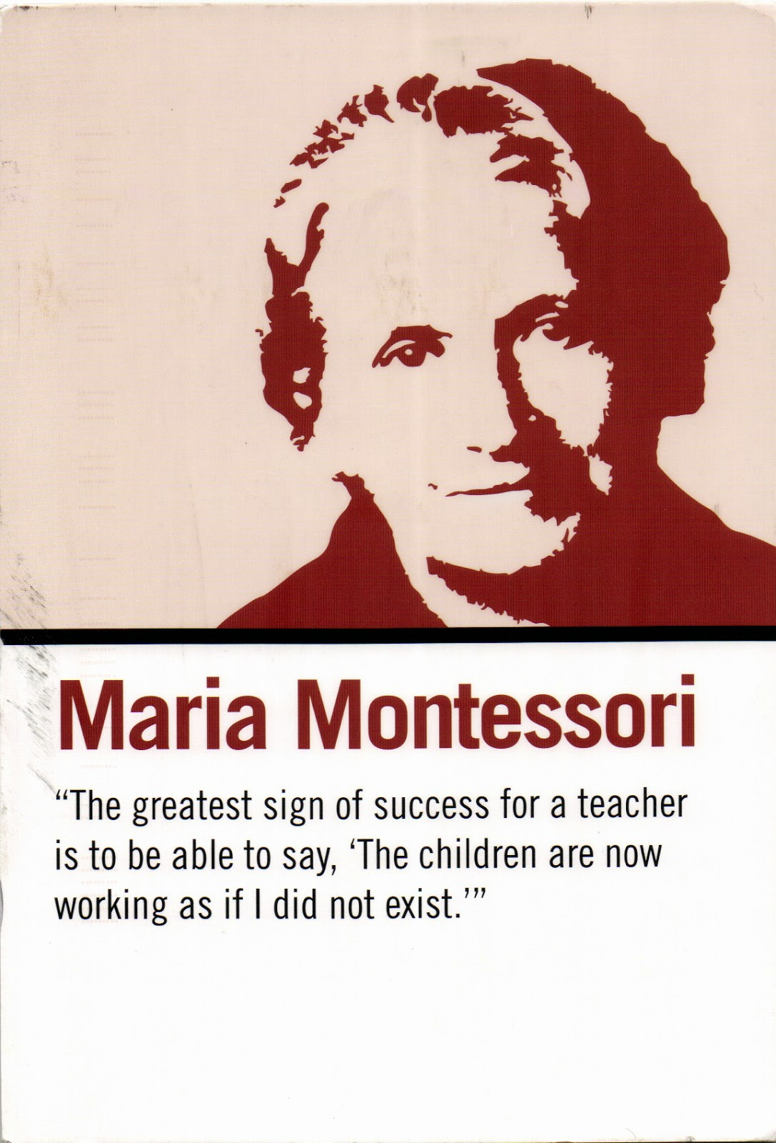 "montessori method is very rigid comment Montessori manual - free ebook  we appreciate that the montessori ""method"" is not the result of intellectual debate and  maria montessori comments."