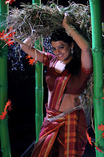 tashu koushik  Pictures in half saree 010.jpg