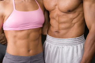male or female to have six pack abs