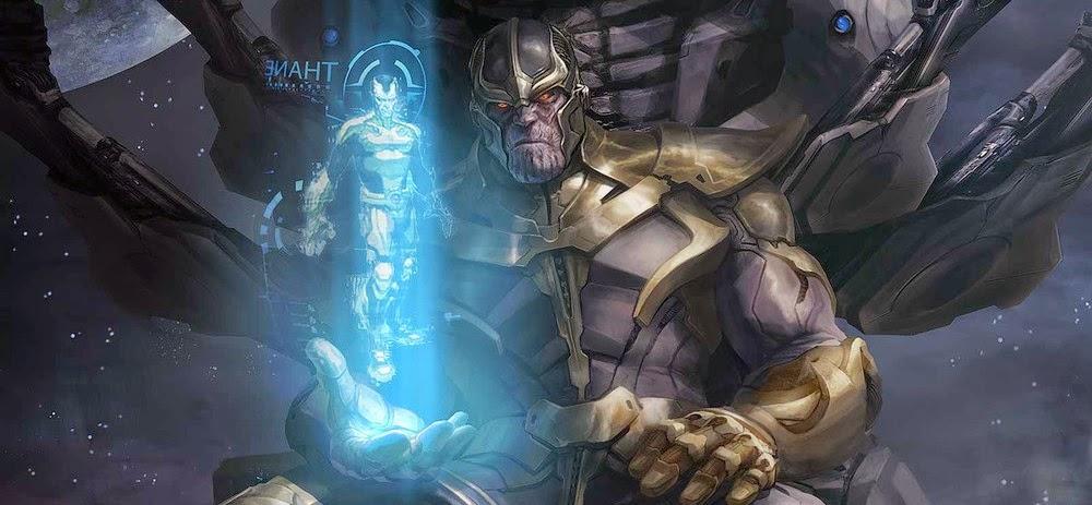Primeira imagem de Thanos em Guardiões da Galáxia + Cena pós-crédito revela novo personagem