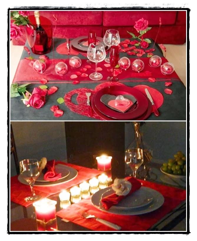 decoração jantar para marido