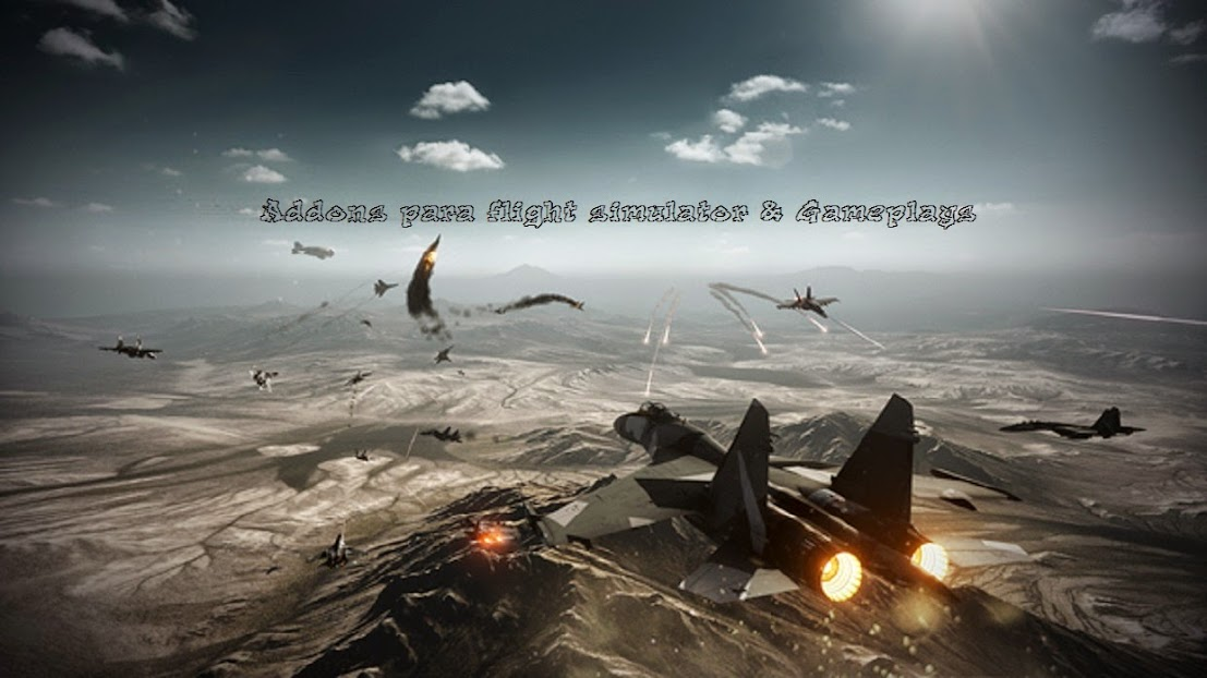 Aeronaves para Simulador & Gameplays