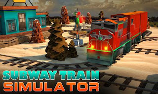 Screenshots of the Subway train simulator: 3D Traffic for Android tablet, phone.