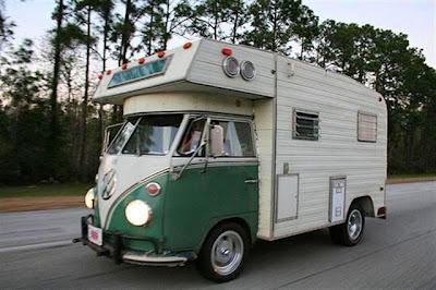 nice job converting a bus into a cool class c camper defineyourroad truck camper hq. Black Bedroom Furniture Sets. Home Design Ideas