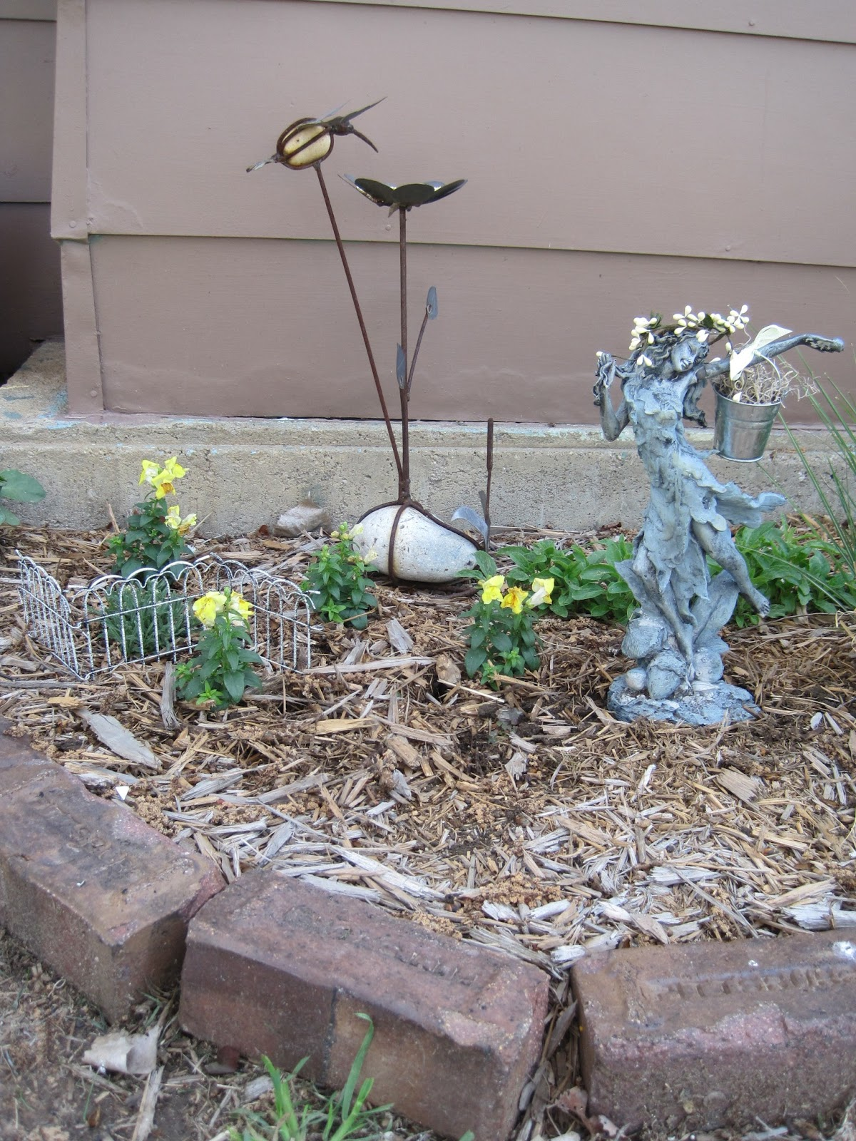 on crooked creek a fairy garden