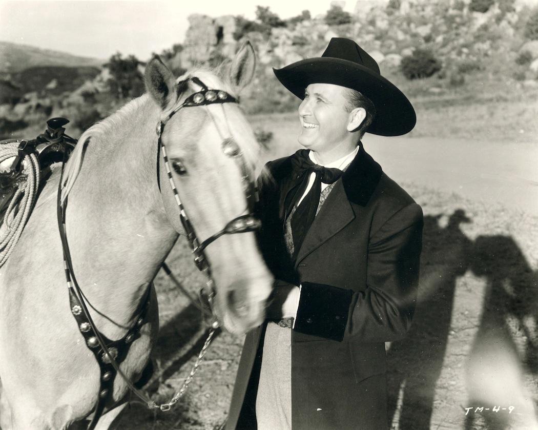A drifting cowboy: Reel Cowboys of the Santa Susanas -- Tim McCoy