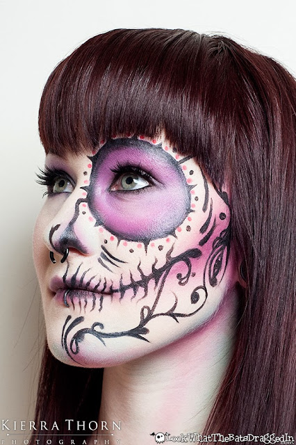 Illamasqua Beauty School Drop-in halloween sugarskull beauty makeup