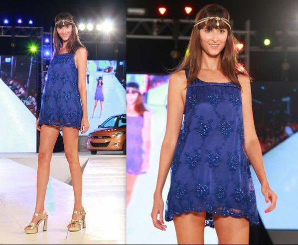 Pinamar Moda Look 2014. Almendra Peralta Ramos y Matuca accesorios verano 2014.
