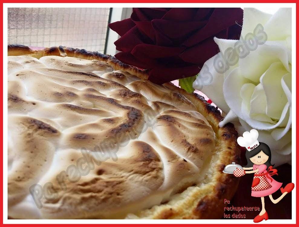 *tarta De Nísperos Y Merengue (thermomix)