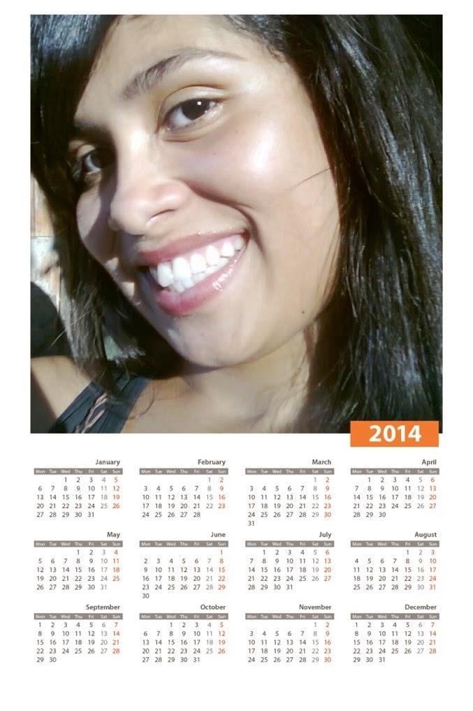 montagem calendário online