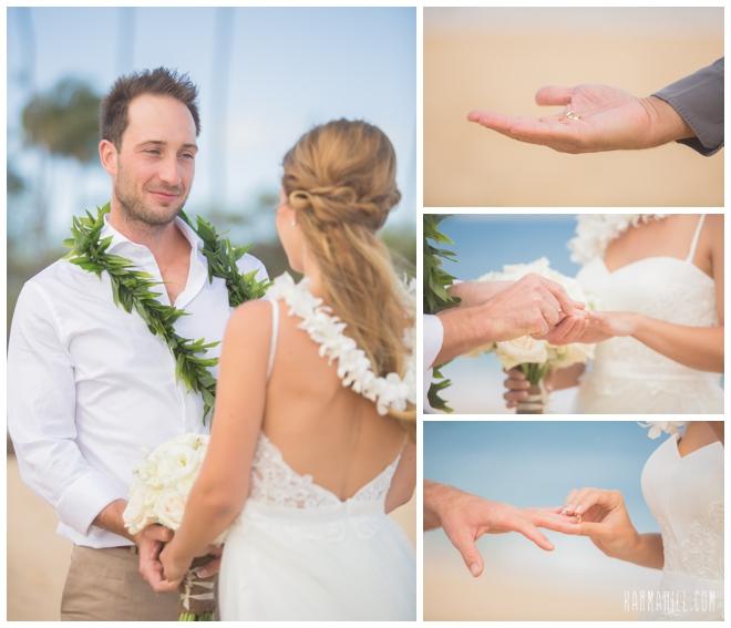 Baldwin beach wedding