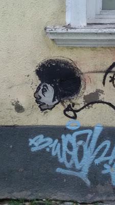 Streetart, Graffiti, Urbanart, Wuschelkopf, Westendstraße, München