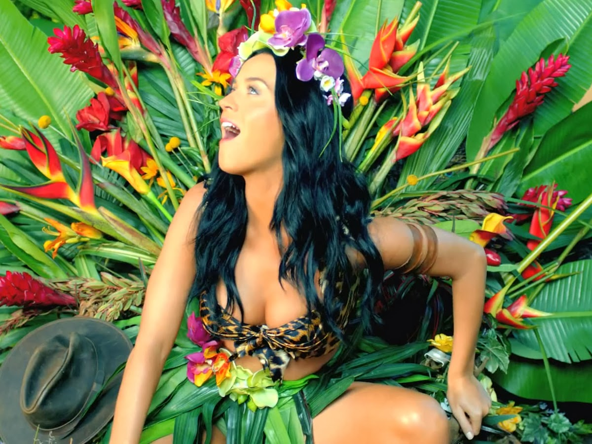 "Katy Perry ""Roar"" screencaps"