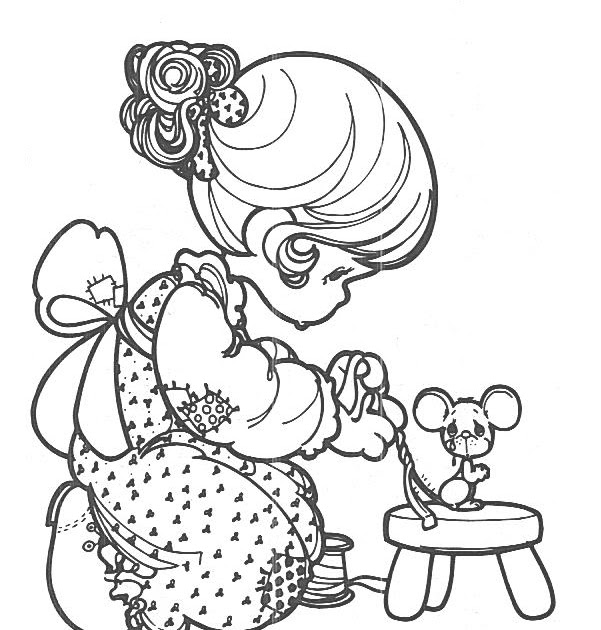 halloween pages precious moments coloring pages
