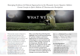 Emerging Evidence & Clinical Approaches in the Dynamic Lower Quarter Athlete