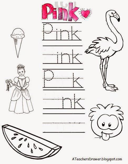Preschool and Kindergarten ideas: Inside a Teacher\'s Drawer: Sight ...