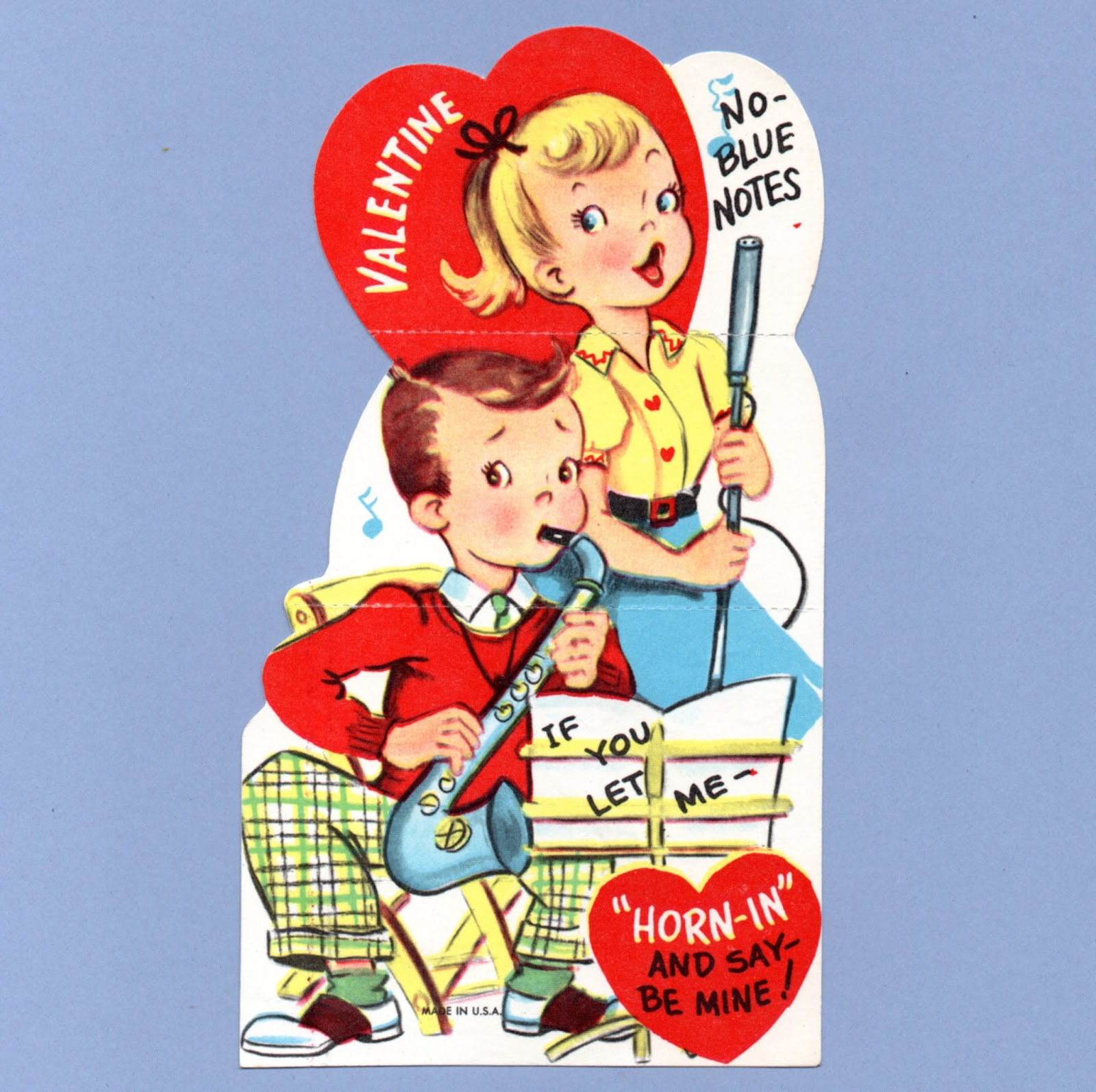 Vintage Valentine Museum Music Singers Choirs Love Songs for – Singing Valentine Cards