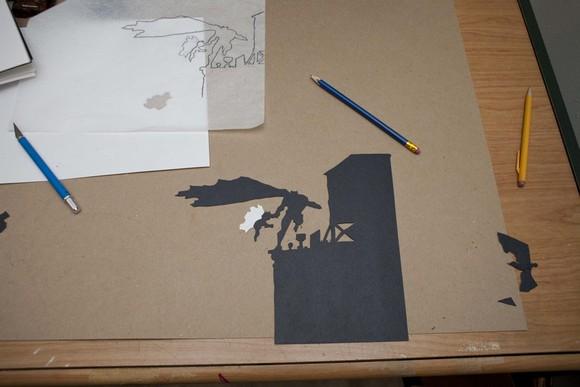 Inspiring Paper-Cut Silhouettes
