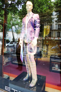 Etro, Italian fashion, Left Bank, plaid pants